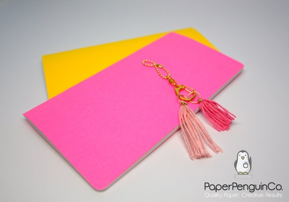 Midori Insert Bright Colors MTN Travelers Notebook Regular Wide B6 Personal A6 Pocket Field Notes Passport / Grid Dots Lined Blank Bullet