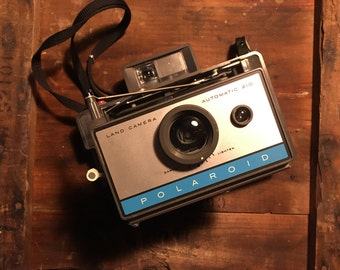 Vintage Polaroid Land Camera Automatic 210