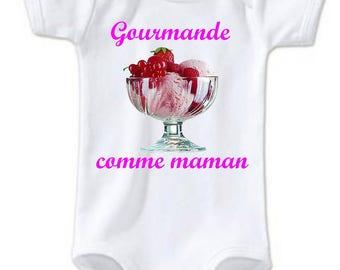 Gourmet MOM baby Bodysuit