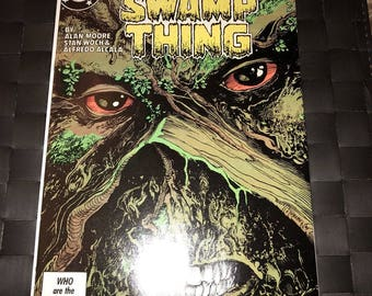 Swamp Thing #49 (DC 1986) Justice League Dark Cameo
