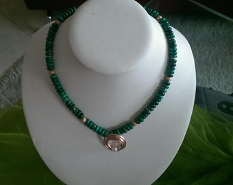 Malachite Necklace (women)