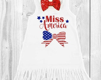 4th of July dress baby girl 4th of July dress girls 4th of July outfit girls 4th of July dress Miss America red white and blue patriotic