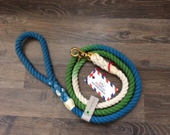 Lagoon Custom Dog Leash,cotton rope