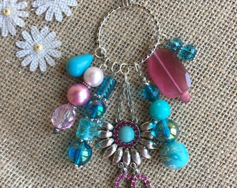 Handmade, One-of-a-Kind Cluster Necklace