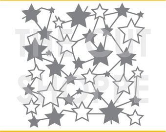 The Shooting Star cut file is a background design that can be used for your scrapbooking and papercrafting projects.