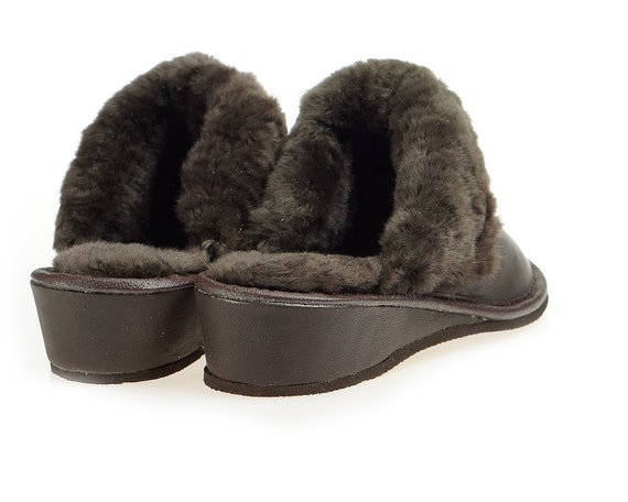 Moccasins Moccasins 100 Wool SLIPPERS bedroom Leather House Sheepskin Cool Women womens Slippers Handmade Slippers Handmade SHEEPSKIN qvw0YI