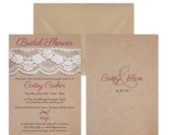 Bridal Shower Invitation #18