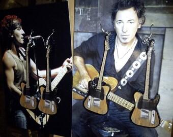 Guitar Earrings - Bruce Springsteen's inspired earrings for Anne