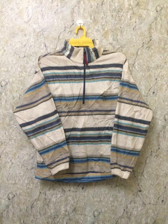 Vintage Jack Wolf Skin Fleece Jacket Pull Over Zipper Up Sweater, Outdoor, Skateboard, Basketball, Size L Rare