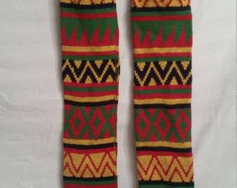 SALE!Vintage colorful legwarmers, 1980s