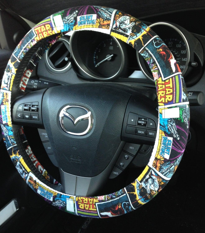 Star Wars Comic Steering Wheel Cover Original Trilogy Ben