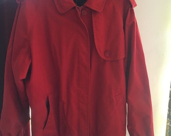 Red Burberry Jacket