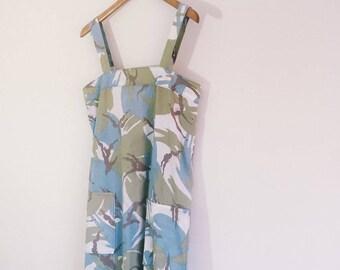 Pretty Pastel Camouflage Summer Dress