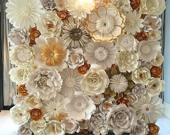 Latrice dixon on etsy paper flower wall mightylinksfo