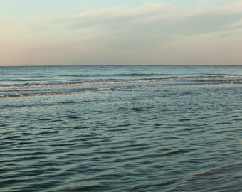 Nature Photography - large print - seascape ocean mint teal turquoise - 30x45 Wash Over Me No. 1303-9460