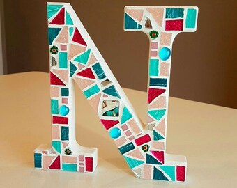 Letters. Mosaic letters