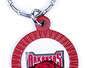 Arkansas Razorbacks Keychain & Keyring - Circle
