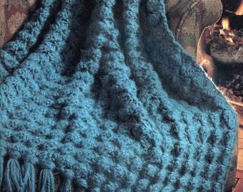 So Easy!  Crochet Blanket Pattern