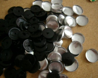 Size 60 Buttons To Cover in your fabric 1-1\/2 inches 25 sets