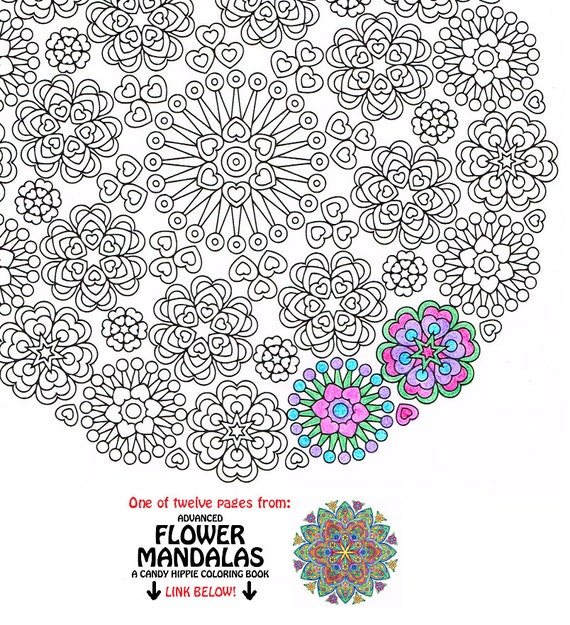 Mandala Coloring Page Lace of Love printable coloring page