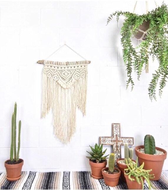 """DIY KIT Macrame Wall Hanging """"AZTEC"""""""