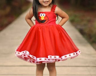Elmo Themed Party Dress Package