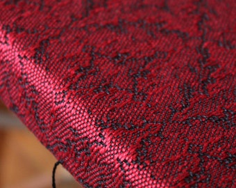 Woven 100% Mulberry silk neck scarf