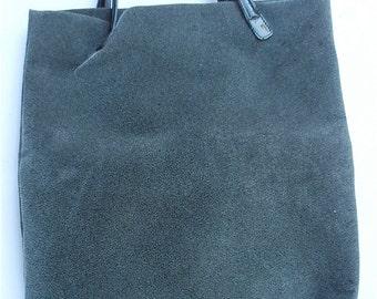 Vintage Italian Handbag Vintage Grey Handbag Vintage Gray Tote Vintage Grey Italian Bag Gray Kalliste Bag Grey Shopping Bag Italian Tote