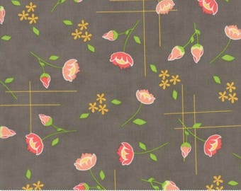 Lulu Lane by Corey Yoder - Meadow in Slate (29021-20) - Moda - 1 Yard