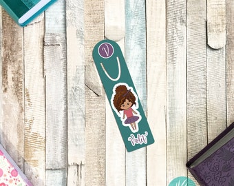 Personalized Bookmark for Kids, Personalized Dance Gifts Dance Recital Gifts Personalized Metal Bookmark for Books Ballerina Girl Gift Ideas