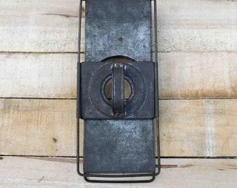 Vintage Knapp's Veg-E-Grater Metal Slide Grater, Kitchen,Antique,Primitive