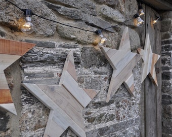 Rustic Pallet Star Reclaimed Wood Pallet Wood Home Decor Rustic Decor Rustic Star Pallet Star Wall Decor - LARGE STAR