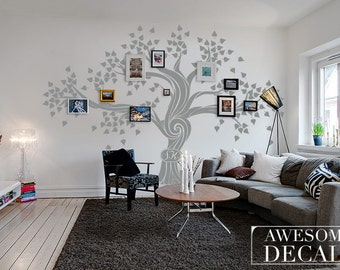 Family Tree Wall Decal U2013 Tree Wall Decal U2013 Custom Wall Art U2013 Large Wall  Decal U2013 Office Wall Art U2013 Vinyl Decals   Awesome Decals / 006a