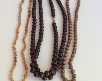 Vintage Beaded Necklace Collection