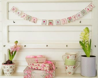Embroidery file 10x10-mini birthday garland (ith)