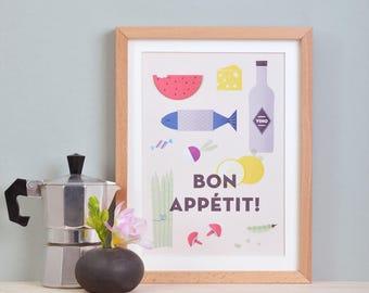 Print» Bon appétit! «