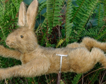 PDF sewing Pattern for Hampton Bears running jointed Hare  vintage style artist bunny