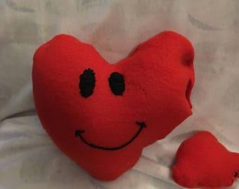 Happy Heart Squeak Toy with bonus toy