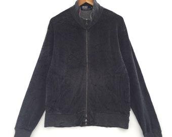 RARE!!! Vintage Polo by Ralph Lauren Sweatshirt Black Colour Size LL