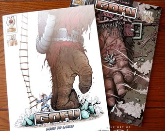Gofu Part 1 and 2 COMBO | Self-published Comic Book | Sci-fi/Fantasy