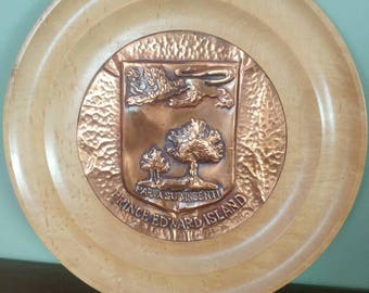 Vintage PEI plate from Lions Club 1962