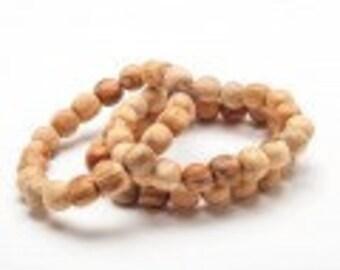 SALE One Palo Santo Sacred Naturally Aromatic Bracelet. 20 Beads. Elastic band. Wild harvested.