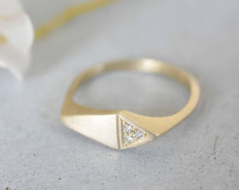 14k gold diamond ring, 14k gold engagement ring, engagement ring 14k gold, unique diamond engagement ring, yellow gold diamond engagement