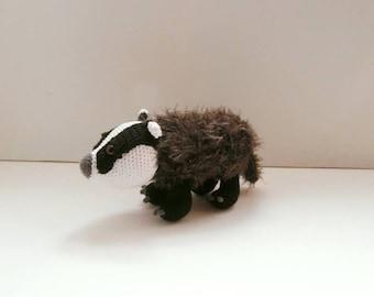 The Badger crochet tutorial PDF