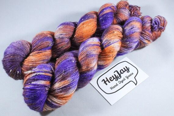 Donegal Tweed Sock Yarn - BFL - Growl