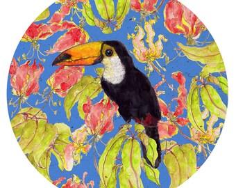 Tucan- exotic birds- bird love- print