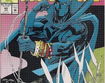 Marvel Comics,Last MARVEL FANFARE 60,Dec 1991,Walt Simonson,T'Challa Black Panther,X-MEN,Rogue,Mystique,Daredevil,Marvel Cinematic Universe