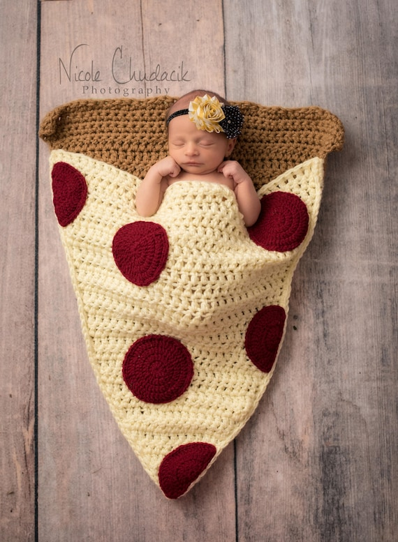 Pizza Slice Cocoon Blanket MADE To ORDER All Sizes Snuggle