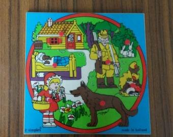 Simplex puzzle Little red ridinghood