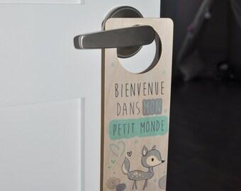 Door hook - welcome to my little world